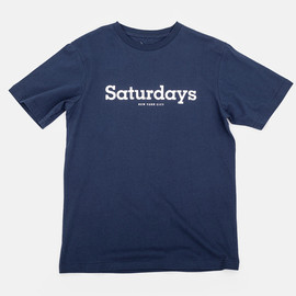 Saturdays Surf NYC - Simple Slab T-Shirt Navy