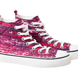 Isabel Marant pour H&M - High cut Sneakers Red