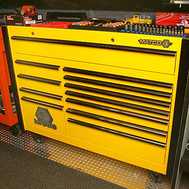 MATCO TOOLS - Matco 6 Series Yellow and black Tool Chest