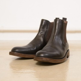 MOTO - side gore boot brown