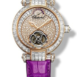 Chopard - IMPERIALE Watch - 18ct. rose gold - amethysts