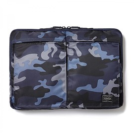 "HEAD PORTER - ""JUNGLE"" LAPTOP CASE 13inch DARK NAVY"