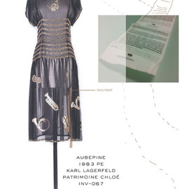 Chloe - dress 1983 by Karl Lagerfeld