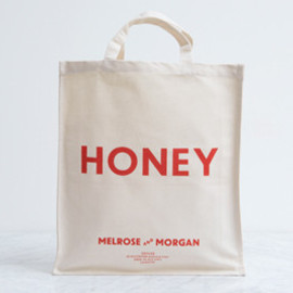 Melrose and Morgan - HONEY%20Canvas%20Shopping%20Bag
