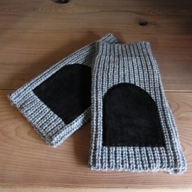 DISCOVERED - Rib Knit Arm Glove