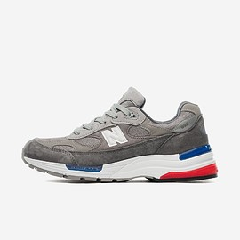 New Balance - M992 - Grey/Red/Blue