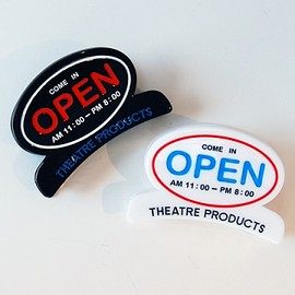 THEATRE PRODUCTS - THEATRE PRODUCTS  アクリルOPENヘアクリップ