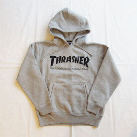 THRASHER - MAG LOGO HOODED SWEAT