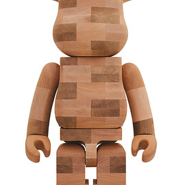 MEDICOM TOY - BE@RBRICK カリモク BRICK-STYLE TILES 1000%