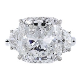 HARRY WINSTON - Cushion Cut Diamond