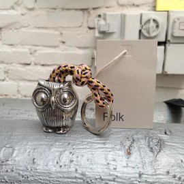 Société Anonyme - 写真: Folk Clothing Owl keyring