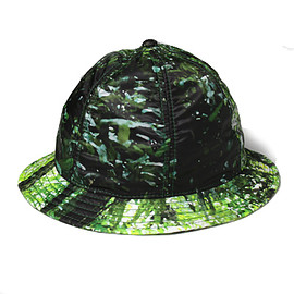 THE NORTH FACE PURPLE LABEL - Forest Print Hat