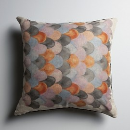 nancybird - 5791 Fish Scale Large Cushion LE2-47FS