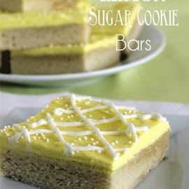 Chocolate Chocolate and More! - Lemon Sugar Cookie Bars