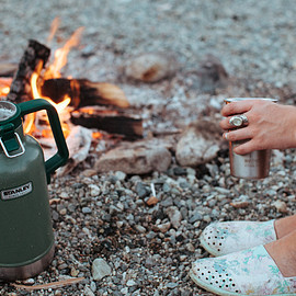stanley - ice melts, keep your beer cold in this Stanley growler.