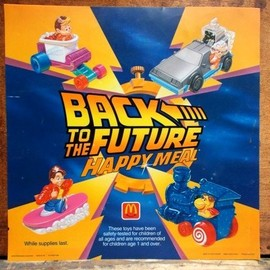 McDonald's - BACK TO THE FUTURE HAPPY MEAL TOYS