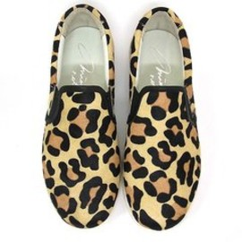mio notis - Leopard Slip-on