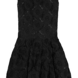 Simone Rocha - Embroidered organza dress