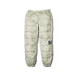 Supreme, THE NORTH FACE - Paper Print Nuptse Pant