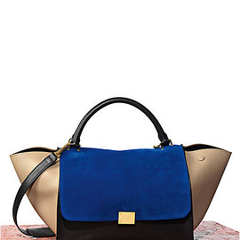 Celine - Trapeze in Calfskin Royal Blue