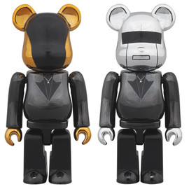 MEDICOM TOY - BE@RBRICK DAFT PUNK (Random Access Memories Ver.)2PACK 100%