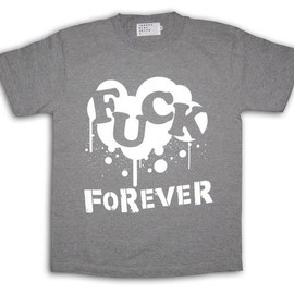 INDUSTRIAL SUITE - FUCK FOREVER! TEE (Gray)