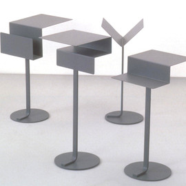 Konstantin Grcic - Mono side tables by Konstantin Grcic