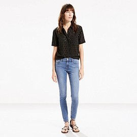 LEVI'S - 710 FLAWLESSFX SUPER SKINNY JEANS