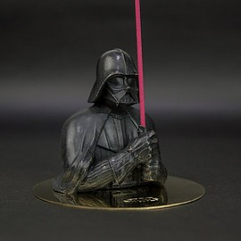 eye candle studio - Eyecandle Star Wars – Half Body Darth Vader brass Incense Holder Set