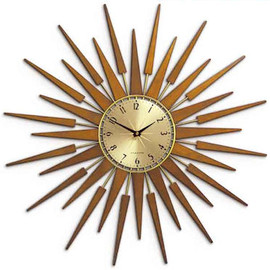 Newgate Clocks - SUNBURST BROWN