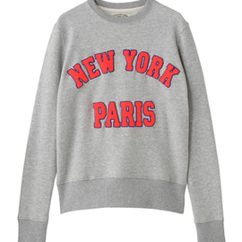 MIRROR of Shinzone - ''NY'' ''PARIS'' Pullovers