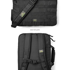 GREGORY - Assault 3 way - Black