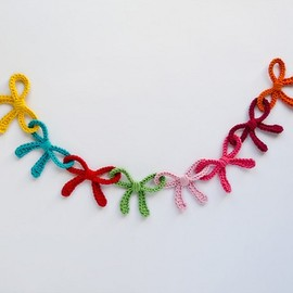 Garland of Coloful Bows