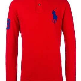 Polo Ralph Lauren - logo embroidered polo shirt