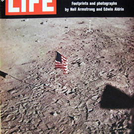 "TIME INC. - LIFE Vol.67 No.6, August 8 1969 ""ON THE MOON"""