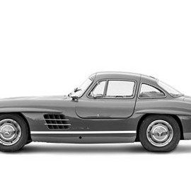 Mercedes-Benz - 300SL Gullwing Coupe