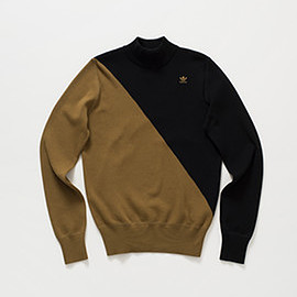 adidas originals by hyke - hy mock neck sweater