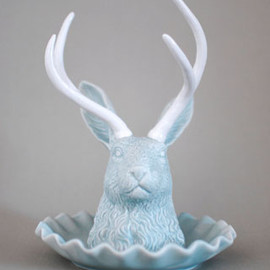 imm living - JACKALOPE JEWELERY HOLDER