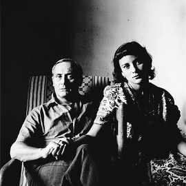 Irving Penn  1917-2009 - 1948 Joan Miro and his Daughter, Dolores