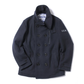 uniform experiment - U.E. POOL SOFT MELTON PEA COAT