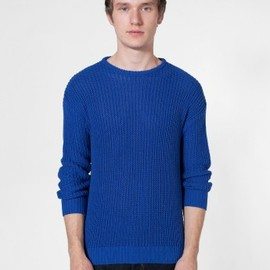 American Apparel - Fisherman's Pullover Royal Blue