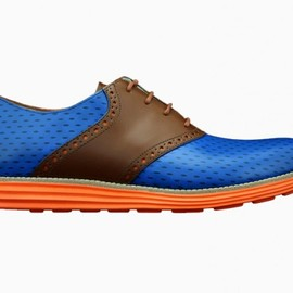 "Cole Haan - Cole Haan Lunargrand ""Knicks"" for Spike Lee by Revive Customs"