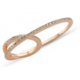 Fiya Bijoux - Double Ring Pink Gold
