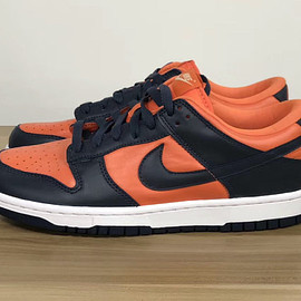 NIKE - Dunk Low SP - University Orange/Marine
