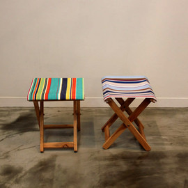 unknown(The tastemakers & co) - Deckchairstripes Event Stool