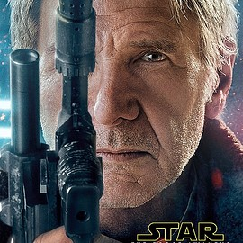 Star Wars: The Force Awakens character posters - Han Solo