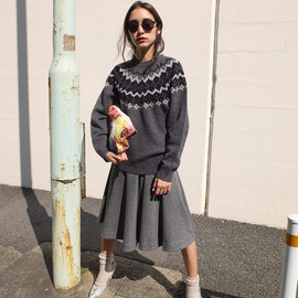 moussy - cowichan sweater