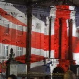 UK - Projection mapping the Union Jack