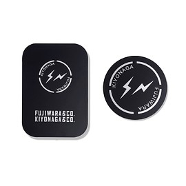 KIYONAGA&CO., fragment design - STEEL STICKER for Magnetic Cell Phone Holder