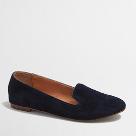 J.CREW - FACTORY SUEDE CORA LOAFERS